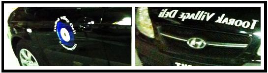 Vehicle Adhesive Vinyl