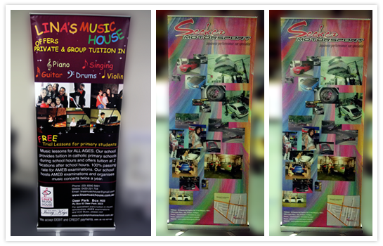 Echo Pull Up Banners