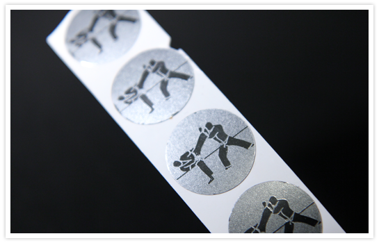 Embossing Stickers