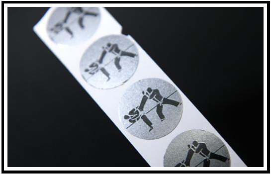 Metallic Colour Foil Stickers